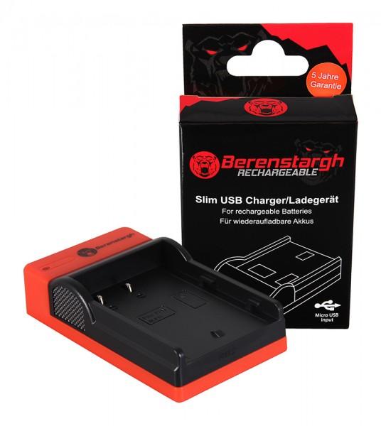 Berenstargh Slim Micro-USB Ladegerät f. Panasonic BLF19E DMWBLF19 DMW-BLF19
