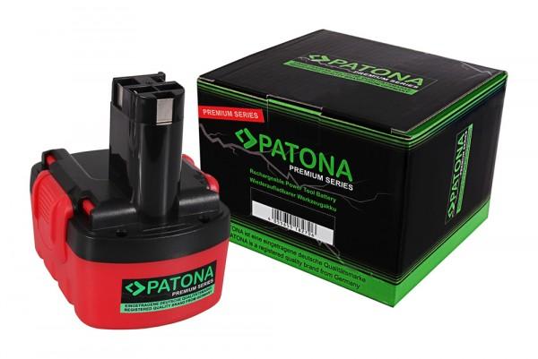 PATONA Premium Akku f. Bosch BAT038 AHS 41 ART 26 EXACT 700 GDR 14 12 V 14.4V GDS 14 12 V