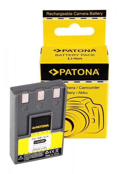Akku f. Canon NB-1LH Digital Ixus 300 330 400 430 500 V V2 V3 VII von PATONA