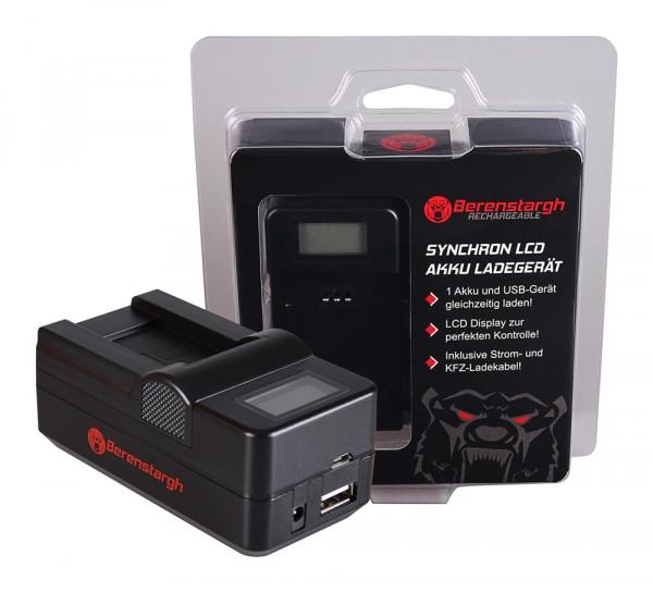 Berenstargh Synchron USB Ladegerät f. Sanyo DB-L90 DMX DMXSH1 DMX-SH1 DMXSH11 DMX-SH11 DB-L90 VPC