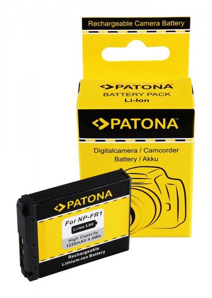 Akku f. Sony NP-FR1 Cyber-shot DSCF88 DSC-F88 DSCG1 DSC-G1 DSCP100 von PATONA