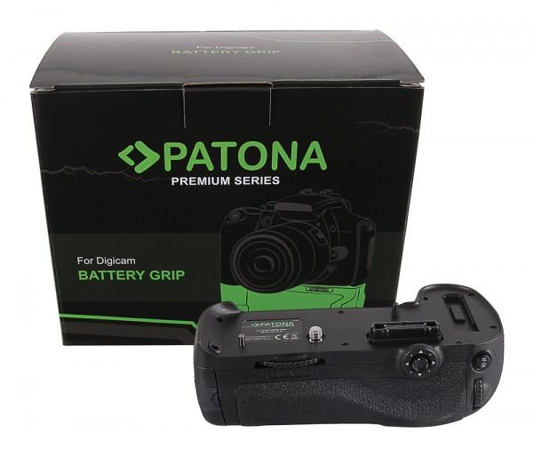 PATONA Premium Batteriegriff f. Nikon D800 D800E D810 D810A MB-D12H f. 1 EN-EL15 Akku inkl. IR Fer