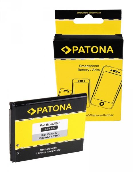 Akku f. LG Optimus L9 (P760) Optimus 4X HD (P880) F5 (P875) L9 (P760) von PATONA