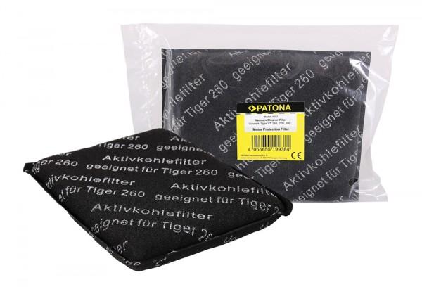 PATONA Motorschutzfilter Schutzfilter f. Vorwerk Tiger VT265 VT270 VT300