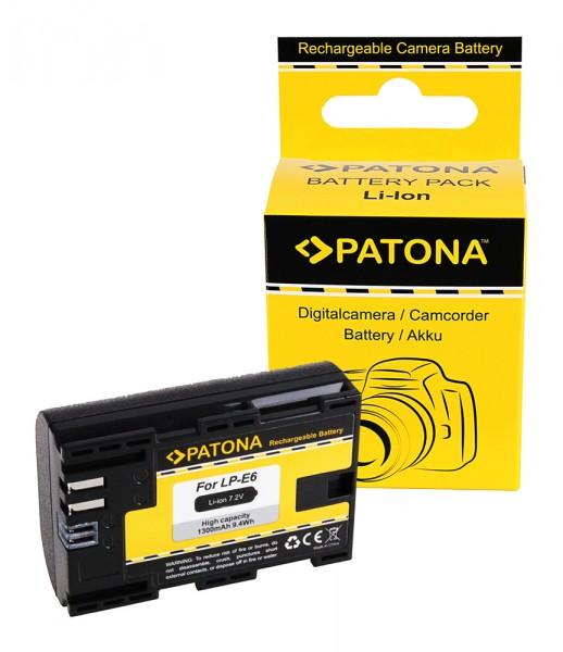 Akku f. Canon LP-E6 EOS 5D 5DS 60D 60Da 6D 7D EOS70D EOS-70D R 5D LP-E6 von PATONA
