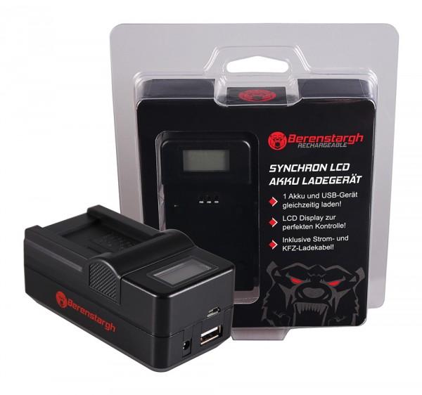 Berenstargh Synchron USB Ladegerät f. Acer Minolta NP-900 CS 6531N CS 6531-N CS5530 CS-5530 Minolta