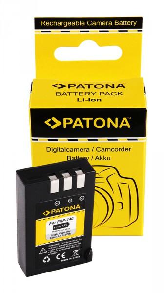 Akku f. Fujifilm alt Fuji NP-140 FinePix S100FS von PATONA
