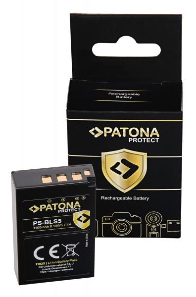 PATONA PROTECT Akku f. Olympus BLS5 E-P3 E-PL2 PEN E-PL3 E-PM1