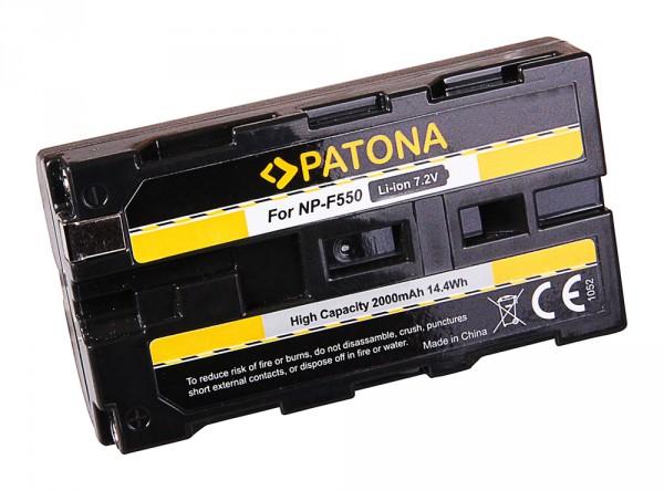 Akku f. Sony NP-F550 CCD CCDSC5 CCD-SC5 CCDSC55 CCD-SC55 CCDSC65 von PATONA
