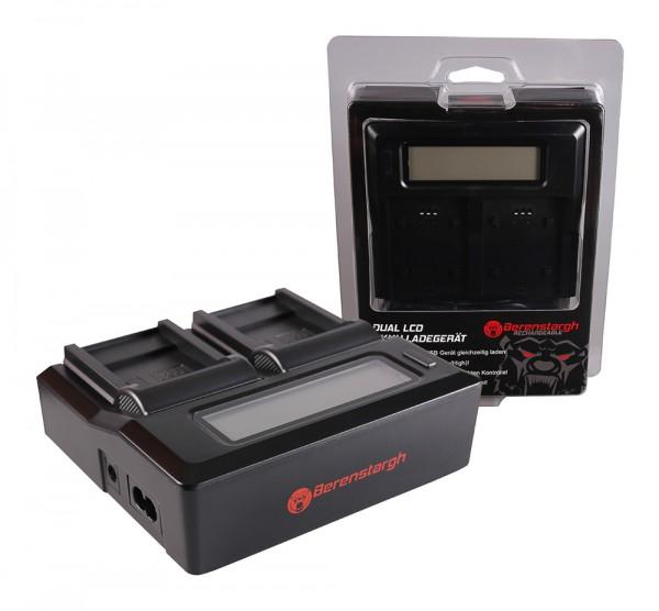 Berenstargh Dual LCD USB Ladegerät f. Sanyo DB-L40A L20A Xacti DMXC1 DMX-C1 DMXCA65 DMX-CA65 DSCC4
