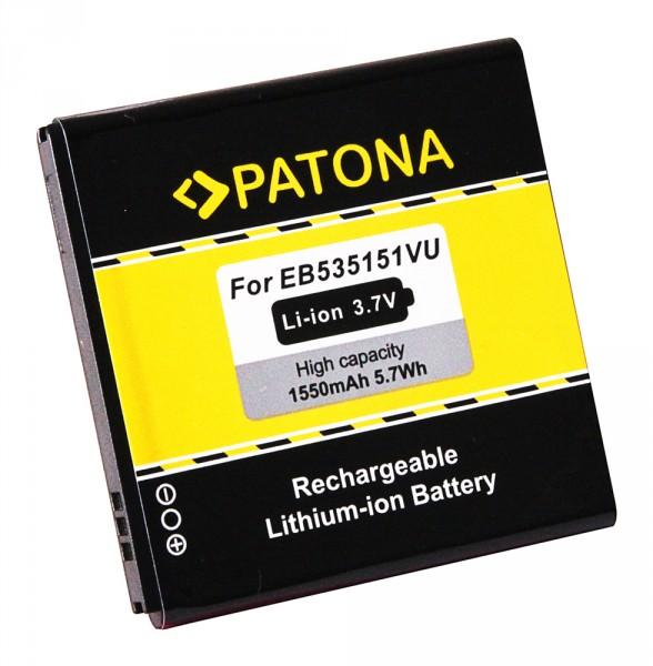 Akku f. Samsung EB535151VU Galaxy GTi9070 GT-i9070 S Advance von PATONA