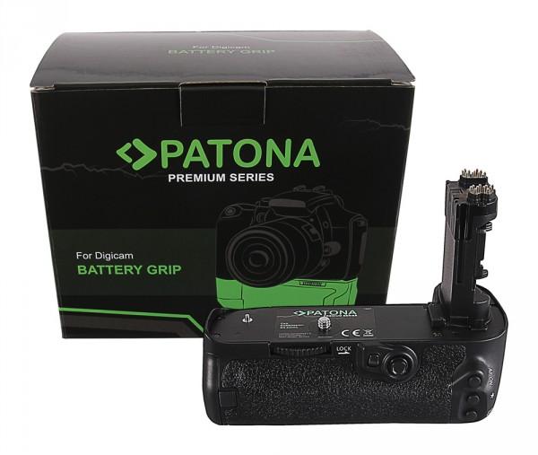 PATONA Premium Batteriegriff f. Canon EOS 5D Mark IV BG-E20RC f. 2 LP-E6N Akkus inkl. IR Fernbedie