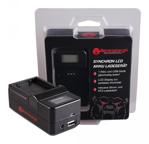 Berenstargh Synchron USB Ladegerät f. Nikon EN-EL21 V2