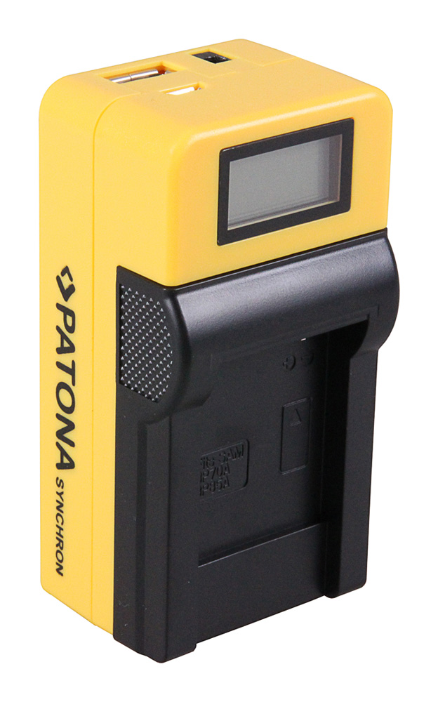 Synchron USB Ladegerät f. Canon BP 70A EOS C300 C300 PL BP 70A HA HA H1S BP 70A X XF100 von PATONA