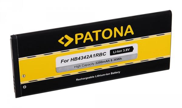 PATONA Akku f. Huawei Ascend Y5 II, Y6, Honor 4A, SCL-TL00, SCL-ALOO, HB4342A1RBC
