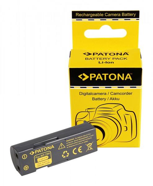 Akku f. Konica Minolta NP-700 Dimage DGX50K DG-X50-K DGX50R DG-X50-R von PATONA