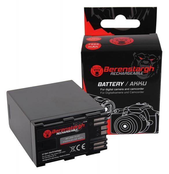 Berenstargh Akku f. Canon BP-A60 EOS C200 C200B C200 PL C300 Mark II XF705 CA-CP200L 7000mAh