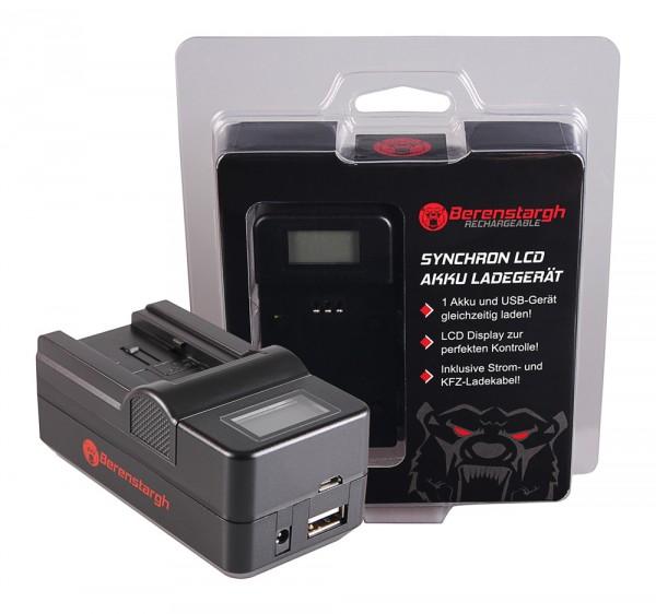 Berenstargh Synchron USB Ladegerät f. Canon BP-718 727 Legria HF R36 HF306 HF38 HF406 HF48 HFM506