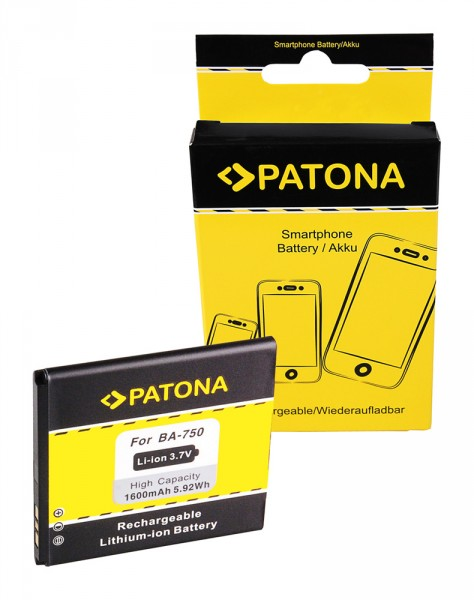 Akku f. Sony Ericsson Ericsson Xperia arc (LT15i) Xperia Arc LT15i Arc von PATONA