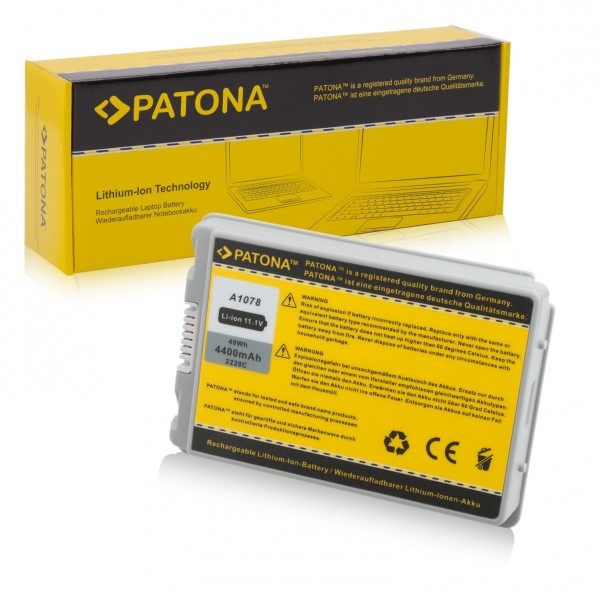Akku f. Apple A1045 Powerbook A1106 M8980J/A M8980JA von PATONA