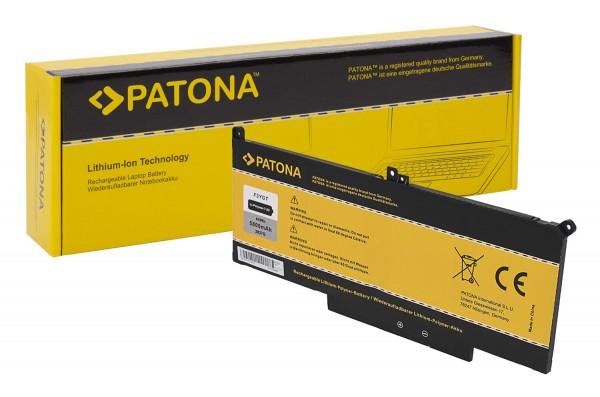 PATONA Akku für Dell E7280 E7380 E7390 E7480 7290 7390 7480 F3YGT