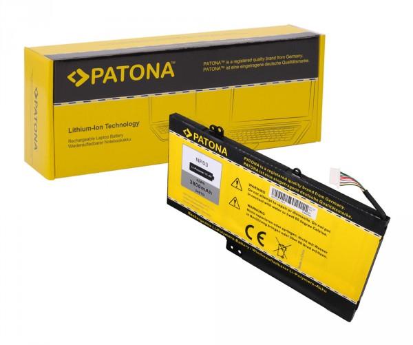 Akku f. HP NP03 Pavilion 13 13-A010DX X360 von PATONA