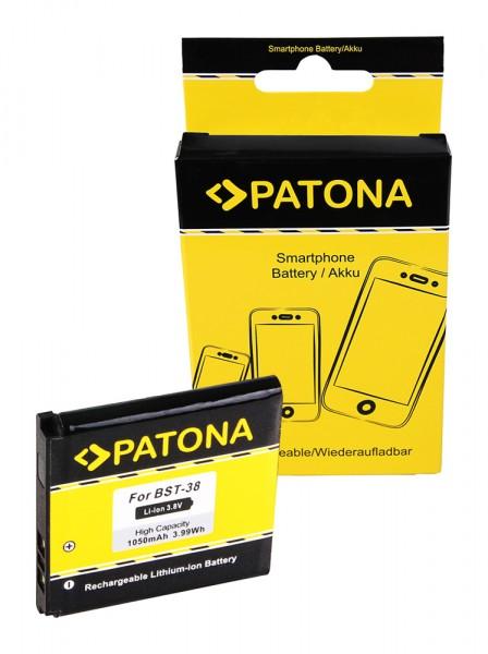 Akku f. Sony Ericsson Ericsson K850i Xperia X10 mini pro Ericsson K850i von PATONA