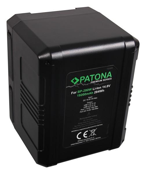 PATONA Premium Akku V-Mount 284Wh f. Sony BP280W DSR 250P 600P 650P 652P