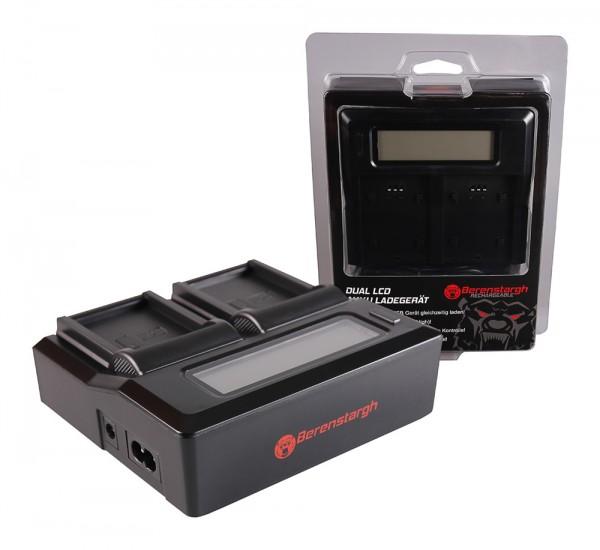 Berenstargh Dual LCD USB Ladegerät f. Kodak LB-070 PIXPRO S1 S-1