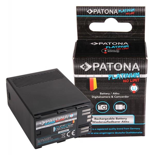 PATONA Platinum Akku f. Canon BP-A65 A60 A30 EOS C200 C300 Mark II XF705 D-Tap USB-Output