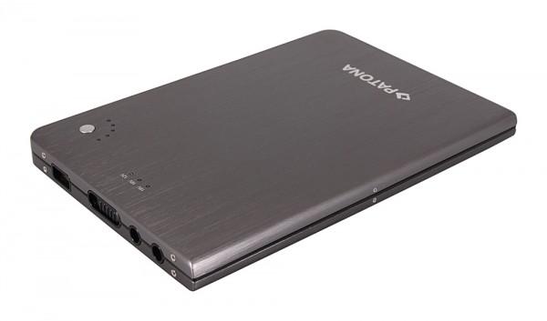 Universal slim Powerbank f. Notebook Ultabook Smartphone Tablet 16000mAh von PATONA