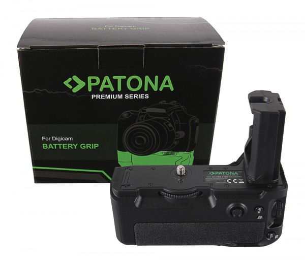 PATONA Premium Batteriegriff für Sony Alpha A7MIII A7RIII A7III A9 VG-C3EM für 2 x NP-FZ100 Akkus in