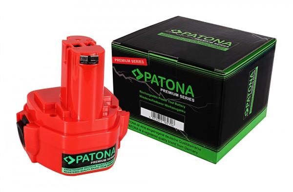PATONA Premium Akku f. Makita 1234 1050 4000 5093 6000 8000 1050D 1050DA 1050DRA