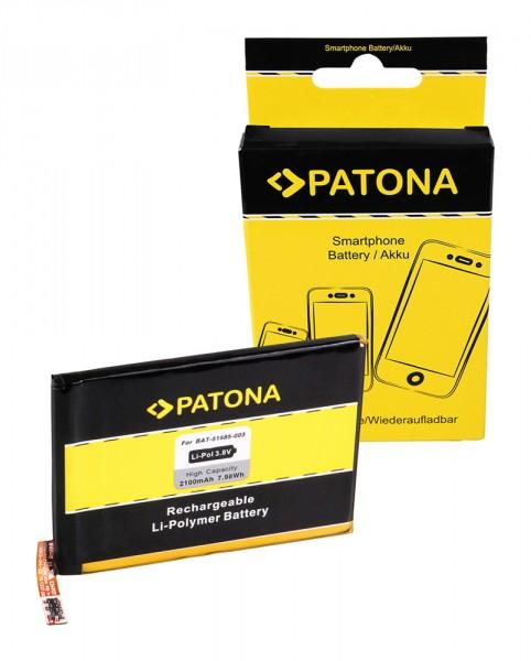 Akku f. Blackberry Q5 Q5 Q5 LTE SQE1003 SQE100-3 SQR1001 SQR100-1 von PATONA