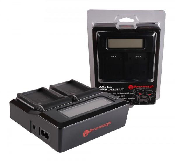 Berenstargh Dual LCD USB Ladegerät f. Drift Drift CFXDC02 HD Ghost