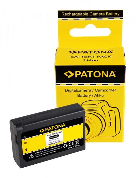 Akku f. Samsung BP1410 NX30 WB2200F von PATONA