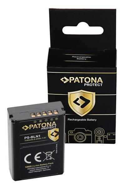 PATONA PROTECT Akku f. Olympus OM-D OMD E-M5 Stylus XZ-2 Pen E-P5 E-M1 PS-BLN1