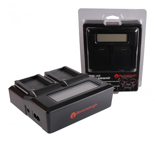 Berenstargh Dual LCD USB Ladegerät f. Garmin P11P15-04-N02 Montana 600 650 600 Moto 650 t