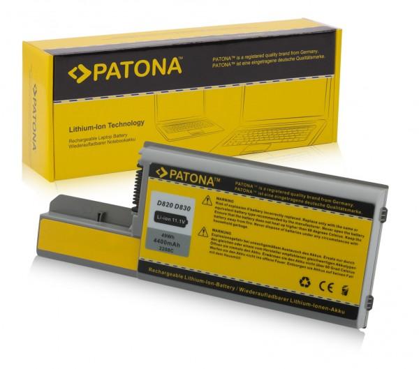 Akku f. Dell D531 Latitude D531 D531N D820 D830 D531 von PATONA