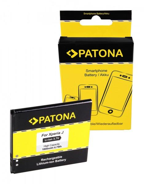 Akku f. Sony Ericsson Xperia J (ST26i) Xperia GX J LT29i ST26i T TX von PATONA