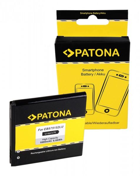 Akku f. Samsung Galaxy S (I9000) Omnia 735 B7350 Pro Galaxy S (I9000) von PATONA