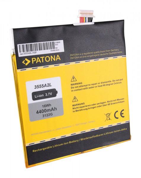 Akku f. Amazon 3555A2L D01400 Kindle Fire von PATONA