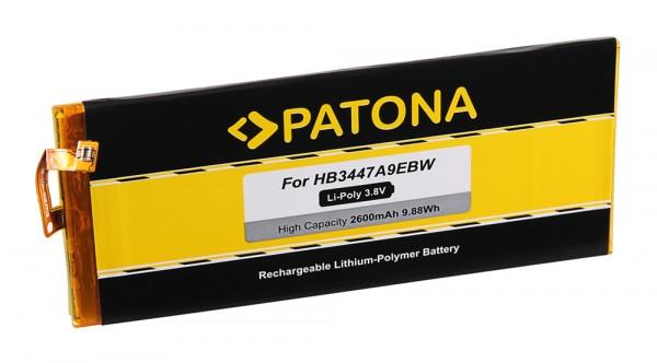 PATONA Akku f. Huawei P8, GRA-L09, GRA-UL00, GRA-UL10 Dual Sim, HB3447A9EBW