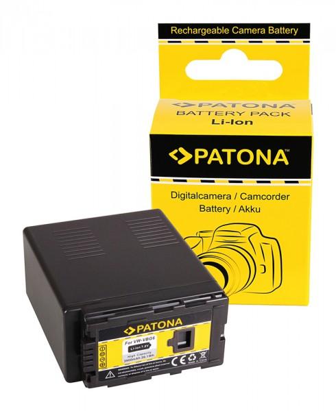 Akku f. Panasonic VW-VBG6 AG AGHCM150 AG-HCM150 AGHCM41 AG-HCM41 von PATONA