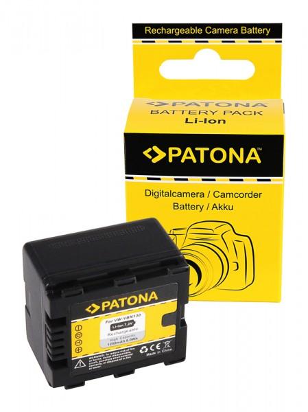 Akku f. Panasonic VW-VBN130 HDC HS900 SD800 SD900 SD909 TM900 X920M von PATONA