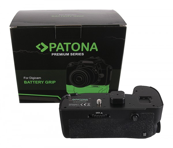 PATONA Premium Batteriegriff f. Panasonic G9 DMW-BGGH9RC f. 1 x DMW-BLF19 Akku inkl. Fernbedienung
