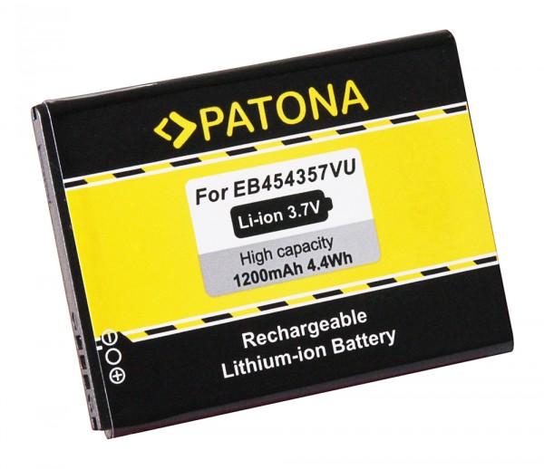 Akku f. Samsung EB-454357VU Galaxy GTS5360 GT-S5360 GTS5368 GT-S5368 von PATONA
