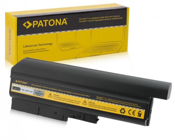 Akku f. IBM T60 ThinkPad R60 9455 R60 9456 R60 9457 R60 von PATONA
