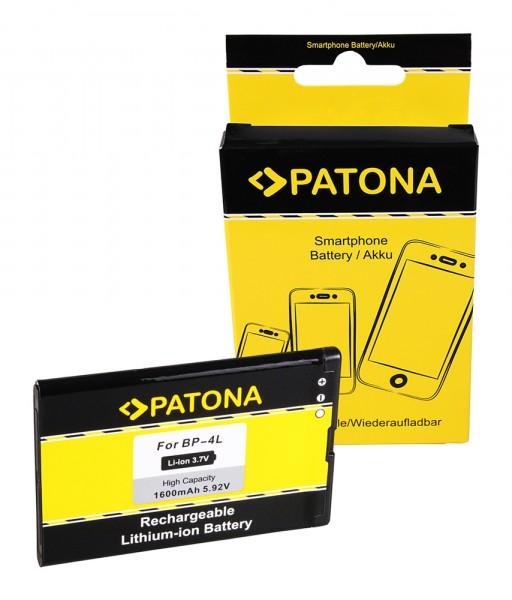 Akku f. Nokia N97 6650 6760 slide E52 E600 E6-00 E61i E63 E71 E72 E90 von PATONA