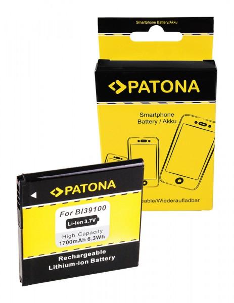 Akku f. HTC BI39100 Sensation XL BI39100 Bass Bliss Bunyip Eternity von PATONA